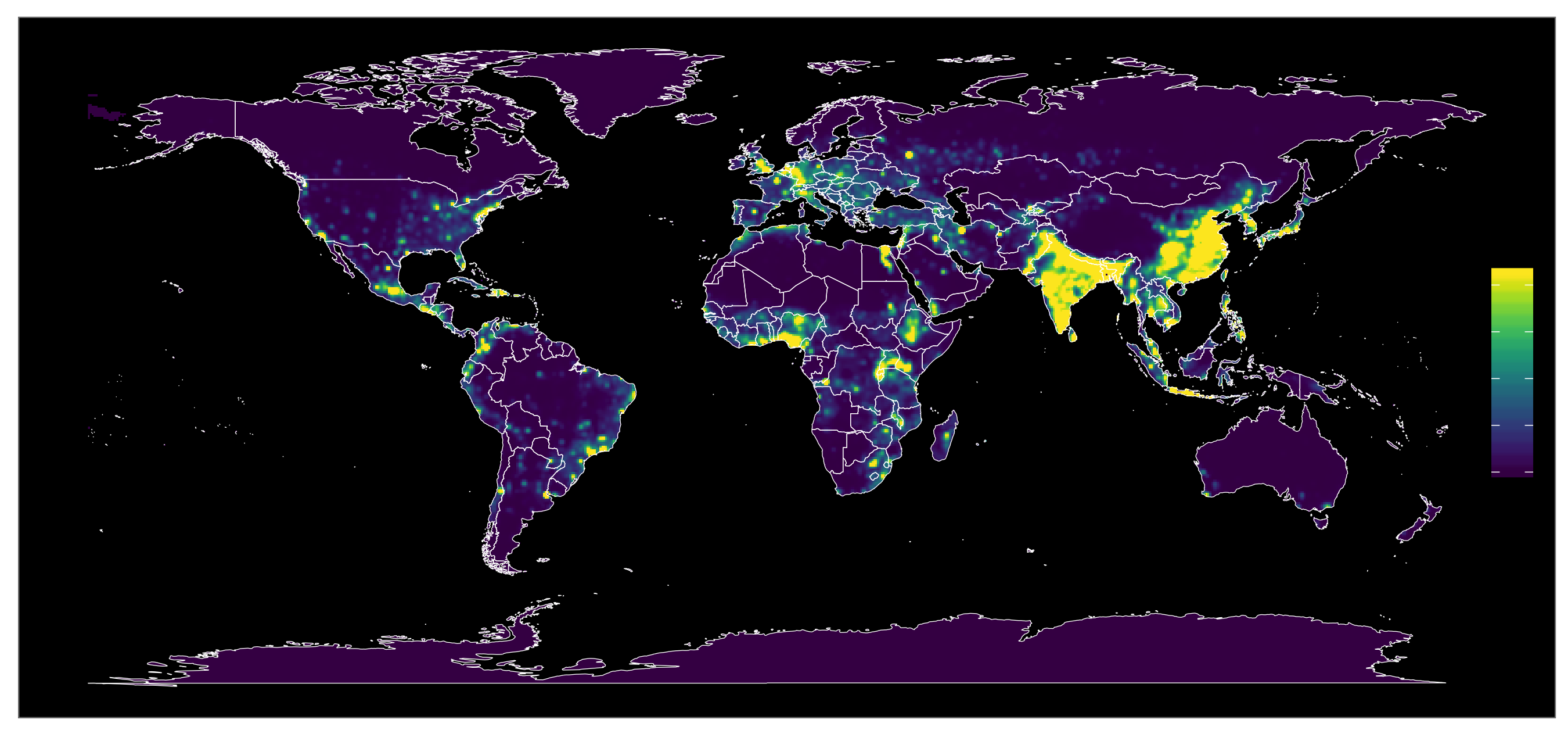 EcoHealth Alliance's Hotspots Map of Global Pandemic Risk