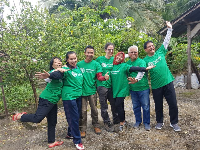 EcoHealth Alliance team in Indonesia