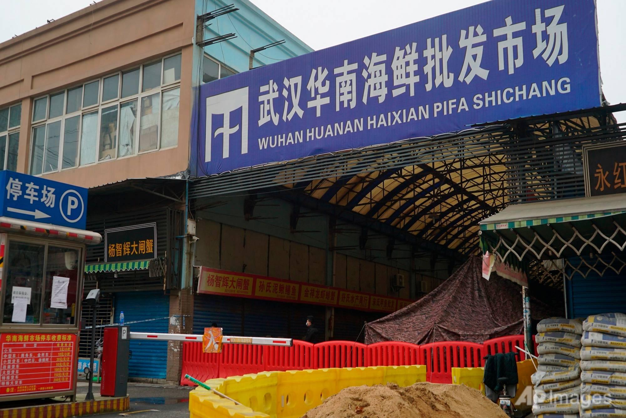 Wuhan wildlife market